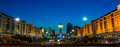 Night astana the in kazakhstan Stock Image