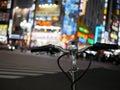 Night bike at Shinjuku, Tokyo Royalty Free Stock Photo