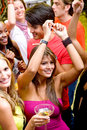 Night club party Royalty Free Stock Photo