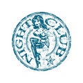 Night club rubber stamp Stock Photos