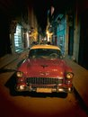 Night Cuban Oldsmobile Royalty Free Stock Photo