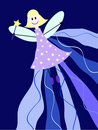 Night fairy Royalty Free Stock Photos