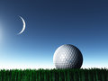 Night Golf Royalty Free Stock Photo