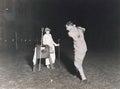 Night golf Royalty Free Stock Photo
