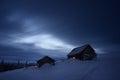 Night Landscape In Mountain Vi...