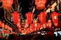 The night of Lantern Festival Royalty Free Stock Photography