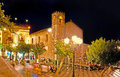 The night life in Taormina Royalty Free Stock Photo