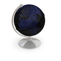 Night lights globe topographic with isolated on white background elements of this image furnished by nasa Royalty Free Stock Images