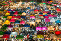 Night market in Bangkok Royalty Free Stock Photo