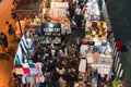 Night market at Siam Square shopping center. Royalty Free Stock Photo