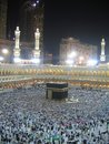 Night Mecca Stock Images