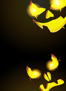 Night monsters Jack O Lanterns Royalty Free Stock Images