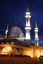 Night Mosque Stock Photography