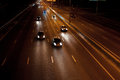 Night motorway Stock Image