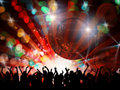 Night party people Royalty Free Stock Images