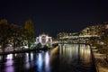 Night Photo Of Rhоne River ...