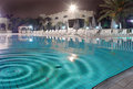 Night pool Royalty Free Stock Photography