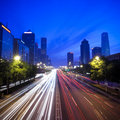 Night scene of chinese beijing Stock Image