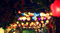 Night scene in town of Hoi An Royalty Free Stock Photo