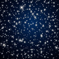 Night sky stars illustration of an abstract background with Royalty Free Stock Photography