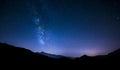 Night Sky Stars With Milky Way...