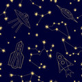 Night sky. Universe background.