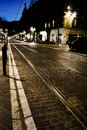 Night Street Stock Image