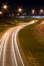 Night Traffic Royalty Free Stock Photos