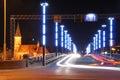 Noche en puente