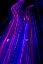 Night traffics Royalty Free Stock Photo