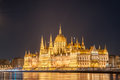 Hungarian parliament building - Orszaghaz in Budapest, Hungary