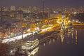 Night view of Kyiv Royalty Free Stock Photography