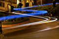 Night View from Lombard Street Stock Images