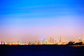 Night view of Melbourne Royalty Free Stock Photo