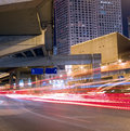 Night view of modern city Royalty Free Stock Photography