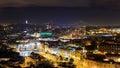 Night view over Lisbon