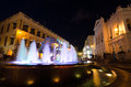 Night view of senado square macao china macau grand lisboa hotel and casino wynn hotel and casino in macau Stock Image