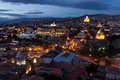 Night view of Tbilisi. Royalty Free Stock Photography