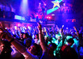 At a nightclub Royalty Free Stock Photo