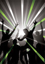 Nightclub background Stock Images