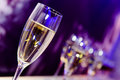 Nightclub champagne glass Royalty Free Stock Photo