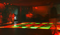 Nightclub dance crowd in motion Stock Photography