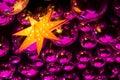 Nightclub Disco Balls And Star