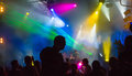 Nightclub youth in the music entertainment shows and dances Royalty Free Stock Photo