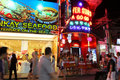 Nightlife in Pattaya, Thailand. Stock Images