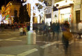 Nightly life in Valetta Royalty Free Stock Photo