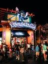 Nighttime at Downtown Disney Orlando, Florida Royalty Free Stock Photo