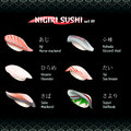 Nigiri sushi III Royalty Free Stock Photo