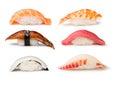 Nigiri Sushi set Royalty Free Stock Photo