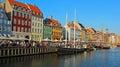 Nihavn - Copenhagen, Denmark Royalty Free Stock Photo